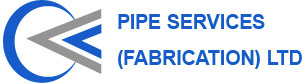 pipe services, pipe work fabrication london logo